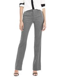 Banana Republic | Gray Logan-fit Luxe Brushed Twill Dot Print Pant | Lyst