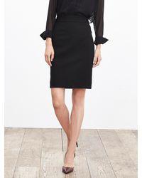 Banana Republic | Black Sloan-fit Pencil Skirt | Lyst