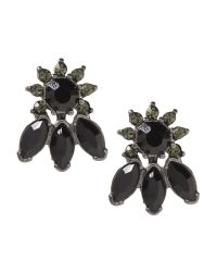 Banana Republic | Black Jet Stud Earring | Lyst