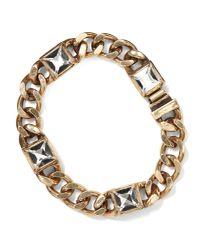 Banana Republic - Metallic Gilded Chain Bracelet - Lyst