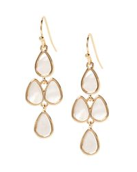 Banana Republic Factory - Metallic Mother Of Pearl Chandelier Earring - Lyst