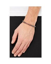 M. Cohen - Red Mixed-rondelle Bracelet for Men - Lyst