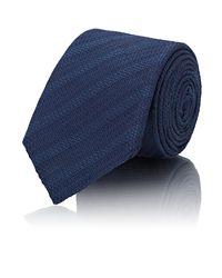 Barneys New York - Blue Textured for Men - Lyst