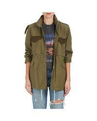 Rag & Bone - Green Ash Cotton Canvas Field Jacket - Lyst
