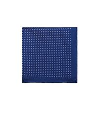 Bigi | Blue Polka Dot Silk Pocket Square | Lyst