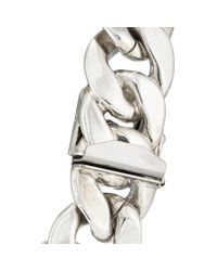 Ann Dexter-Jones - Multicolor Rose Gold & Sterling Silver Id Bracelet - Lyst