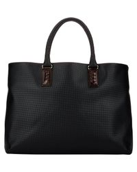 Bottega Veneta | Black Marco Polo Tote for Men | Lyst