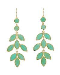 Irene Neuwirth - Green Women's Chandelier Earrings - Lyst