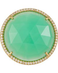Irene Neuwirth | Green Gemstone Ring | Lyst