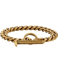 Giles & Brother | Metallic Spike Toggle Chain Bracelet | Lyst