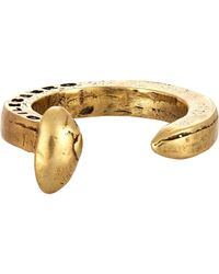 Giles & Brother | Metallic Railroad Spike Ring | Lyst