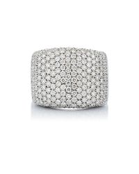 Roberto Marroni | Multicolor Pavé Rectangular Ring | Lyst