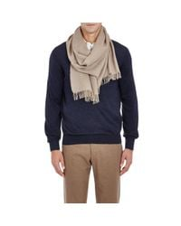 Barneys New York - Natural Cashmere Loose for Men - Lyst