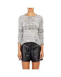 Proenza Schouler - Black Tissue-weight Jersey T - Lyst