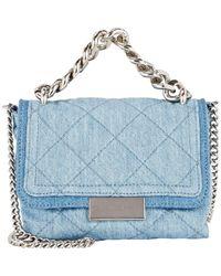 Stella McCartney   Blue Becket Small Shoulder Bag   Lyst