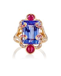 Sharon Khazzam | Blue Persepolis Ring | Lyst