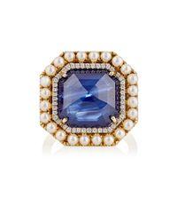 Irene Neuwirth   Metallic Women's Mixed-gemstone Ring   Lyst