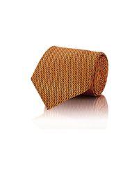 Brioni - Black Men's Neat Jacquard Necktie for Men - Lyst