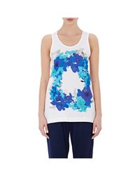 Adidas By Stella McCartney - Blue Blossom Tank - Lyst