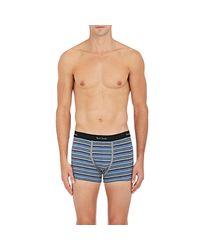 Paul Smith | Blue Fine-striped Stretch for Men | Lyst