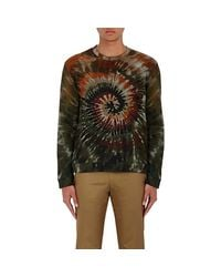 Valentino - Multicolor Tie-dyed Cotton for Men - Lyst