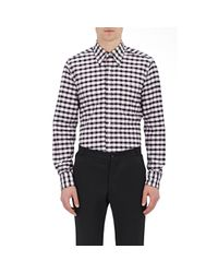 Thom Browne - Multicolor Checked Oxford Cloth Shirt for Men - Lyst
