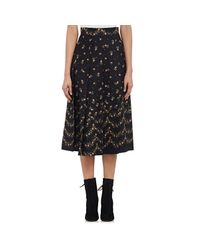 Philosophy Di Lorenzo Serafini - Multicolor Rosebud Pleated Skirt - Lyst