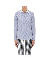 Harvey Faircloth - Blue Striped Button - Lyst