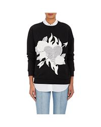 Each x Other - Black Embroidered Cotton Sweatshirt - Lyst