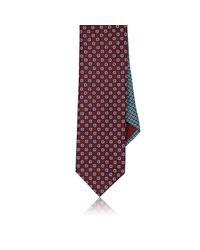 Prada | Purple Printed Reversible Silk Necktie for Men | Lyst