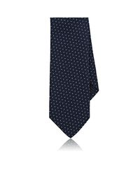 Uman - Blue Dotted Silk Necktie for Men - Lyst