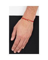 Luis Morais - Red Double-wrap Cord Bracelet for Men - Lyst