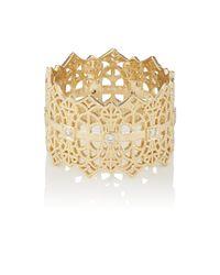 Grace Lee - Metallic Lace Crown Ring - Lyst