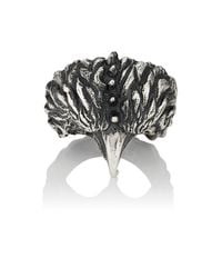 Emanuele Bicocchi - Metallic Bird Sterling Silver Ring for Men - Lyst