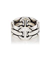 Hoorsenbuhs - Metallic Quad Wall Ring for Men - Lyst