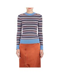 Joos Tricot | Blue Striped Cotton | Lyst