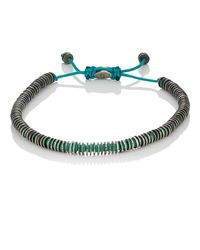 M. Cohen - Blue Mixed-rondelle Bracelet for Men - Lyst