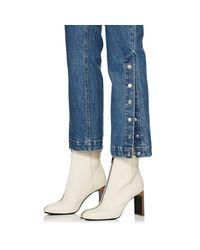 Rag & Bone - Blue Dylan Wide-leg Jeans - Lyst
