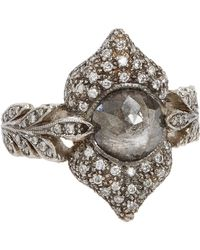 Cathy Waterman - Metallic Ornate Ring - Lyst
