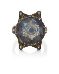 Sevan Biçakci - Multicolor Star Intaglio Ring - Lyst