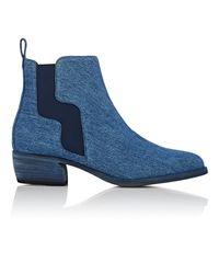Pierre Hardy - Blue Gipsy Denim Chelsea Boots - Lyst