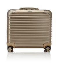 Rimowa - Metallic Topas Titanium 17 Business Multiwheel® Trolley for Men - Lyst