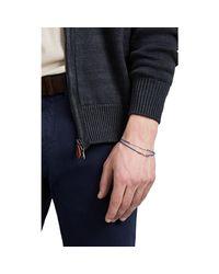 Loren Stewart - Blue Skinni Wrap Bracelet for Men - Lyst