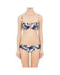Mikoh Swimwear - Black Paia Bandeau Bikini Top Size L - Lyst