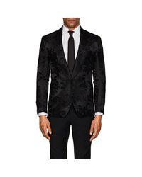 Ralph Lauren Purple Label - Black Anthony Floral Silk One for Men - Lyst