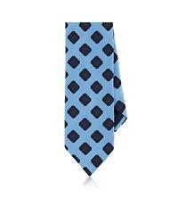 Barneys New York - Blue Medallion-print Silk Satin Necktie for Men - Lyst