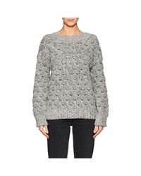 J Brand - White Camelia Knit Sweater - Lyst