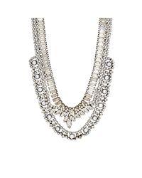 DANNIJO - Metallic Risley Collar Necklace - Lyst