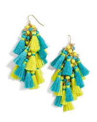 BaubleBar - Multicolor Rosalita Tassel Earrings - Lyst