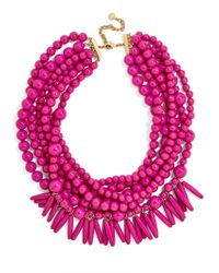 BaubleBar - Multicolor Malibu Statement Necklace - Lyst
